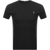 Ralph Lauren Pima Crew Neck T Shirt Navy